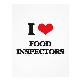 """i LOVE fOOD iNSPECTORS 8.5"""" X 11"""" Flyer"""