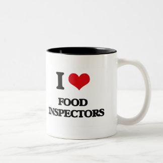 i LOVE fOOD iNSPECTORS Mug