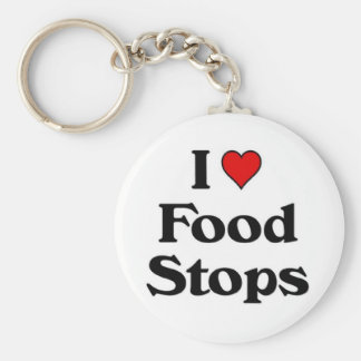 I love food stops key chains