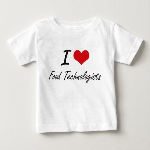 I love Food Technologists T Shirt T-Shirt, Hoodie, Sweatshirt