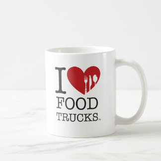 I LOVE Food Trucks Classic White Coffee Mug