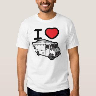 I Love Food Trucks! T Shirt