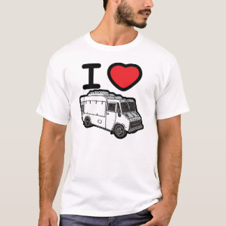 I Love Food Trucks! T-Shirt
