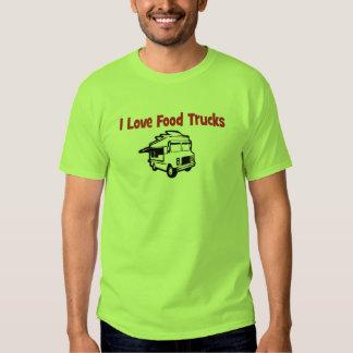 i love food trucks t shirt