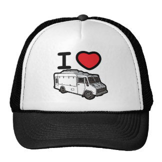 I Love Food Trucks! Trucker Hat