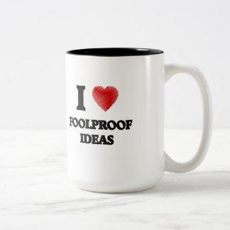 I love Foolproof Ideas Two-Tone Coffee Mug