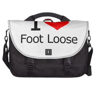 I Love Foot Loose Commuter Bags