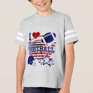 I Love Football (American Football) T-Shirt