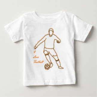 I Love Football Baby T-Shirt