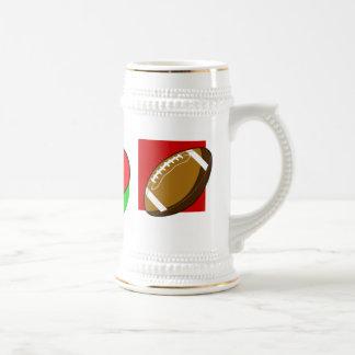 I love football beer stein