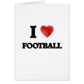 I love Football Card