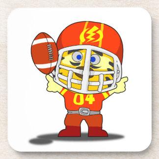 I Love Football Coaster