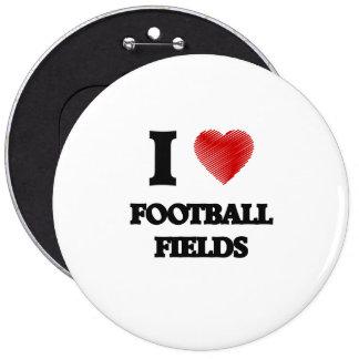 I love Football Fields Button