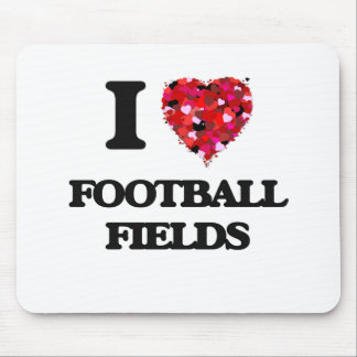 I Love Football Fields Mouse Pad