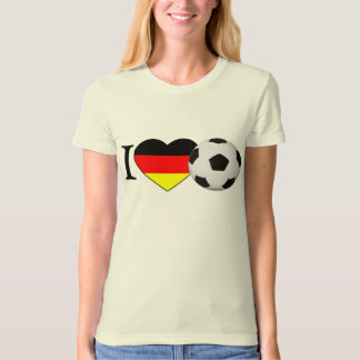 I Love football Germany T-Shirt