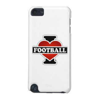 I Love Football iPod Touch (5th Generation) Case