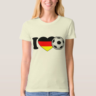 """I Love football"" lady shirt Germany Germany"