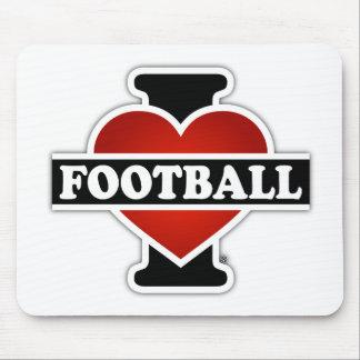 I Love Football Mouse Pad