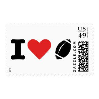 I love football postage