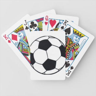 I LOVE FOOTBALL (SOCCER) BICYCLE PLAYING CARDS