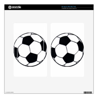 I LOVE FOOTBALL (SOCCER) DECALS FOR KINDLE FIRE