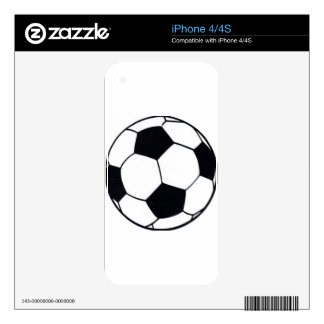 I LOVE FOOTBALL (SOCCER) SKIN FOR THE iPhone 4