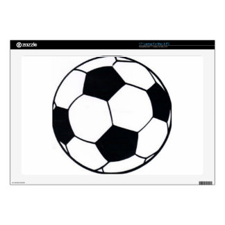 I LOVE FOOTBALL (SOCCER) SKINS FOR LAPTOPS