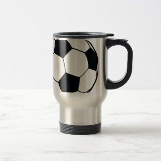 I LOVE FOOTBALL (SOCCER) TRAVEL MUG