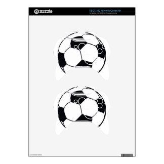 I LOVE FOOTBALL (SOCCER) XBOX 360 CONTROLLER SKIN