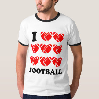 I Love Football Tshirts