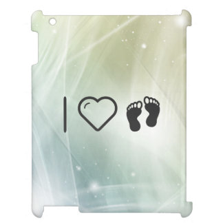 I Love Footprint Walkings Case For The iPad