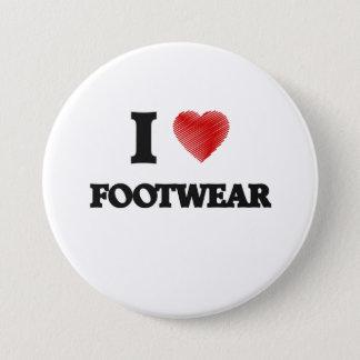 I love Footwear Button