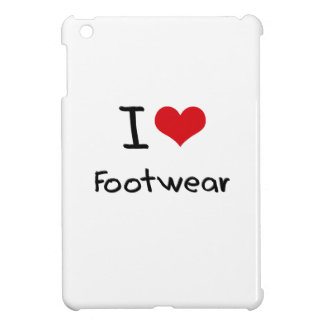 I Love Footwear iPad Mini Covers