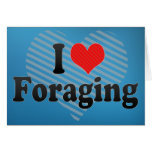 I Love Foraging Cards