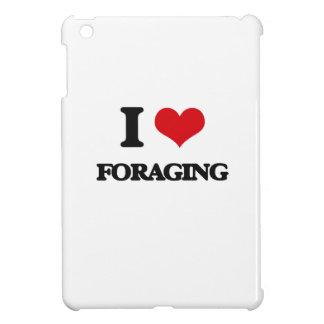i LOVE fORAGING iPad Mini Cases