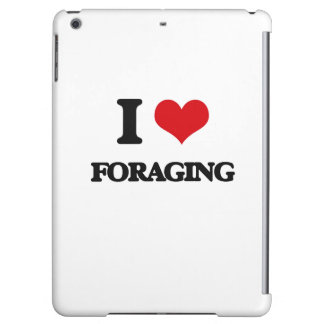 i LOVE fORAGING iPad Air Cases