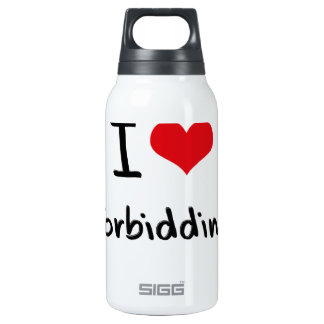 I Love Forbidding SIGG Thermo 0.3L Insulated Bottle