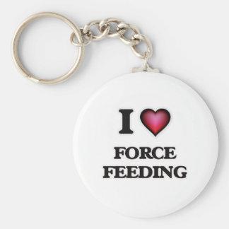 I love Force Feeding Keychain