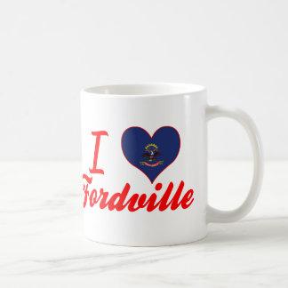 I Love Fordville, North Dakota Coffee Mug