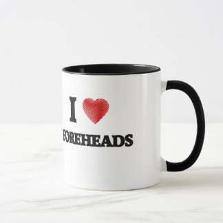 I love Foreheads Mug