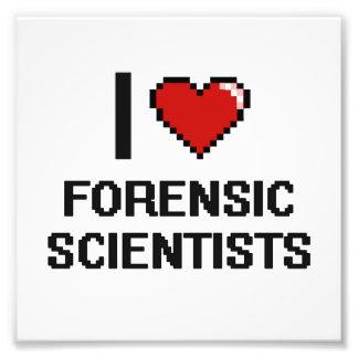 I love Forensic Scientists Photo Print
