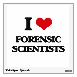 I love Forensic Scientists Room Graphics