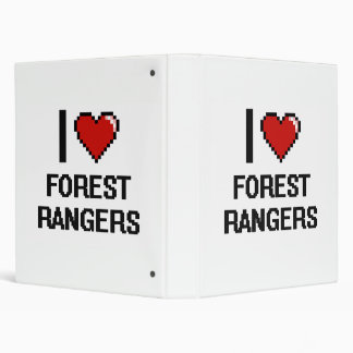 I love Forest Rangers 3 Ring Binder