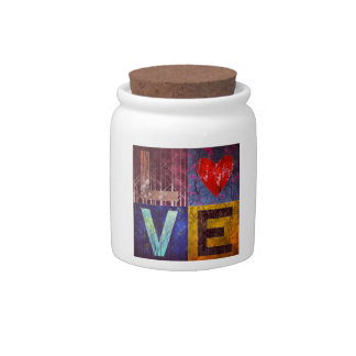 I Love Forests! Candy Jar