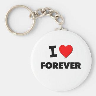 I Love Forever Keychains