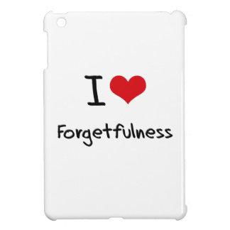 I Love Forgetfulness iPad Mini Cases