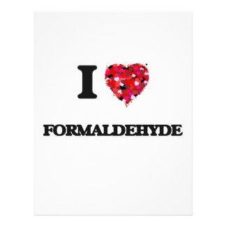 "I Love Formaldehyde 8.5"" X 11"" Flyer"
