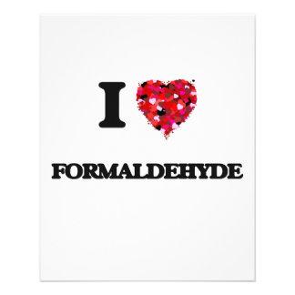 "I Love Formaldehyde 4.5"" X 5.6"" Flyer"