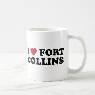 I Love Fort Collins Colorado Coffee Mug