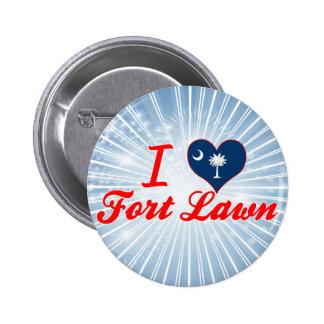I Love Fort Lawn South Carolina Pinback Button